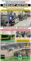 Surplus Equipment of Major Electronics Manufacturer